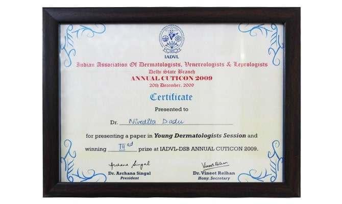 Dr-nivedita dadu-Accreditations
