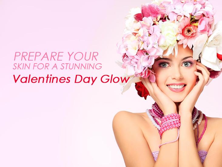 prepare skin for valentines day glow